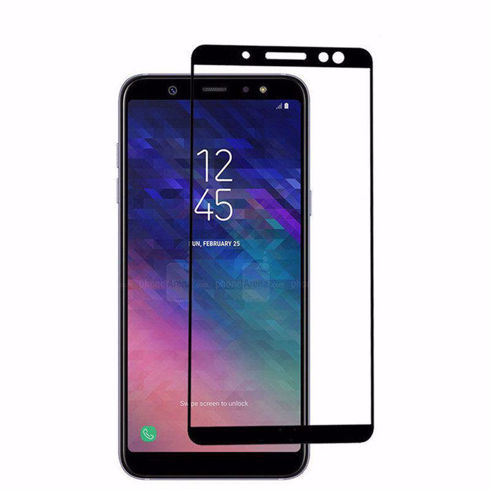 Imagine Folie de sticla 5D Samsung Galaxy A6+ 2018 Neagra