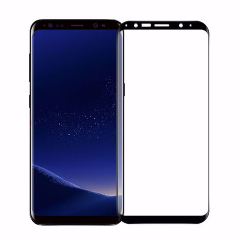 Imagine Folie de sticla 6D Samsung Galaxy Note 9 Neagra