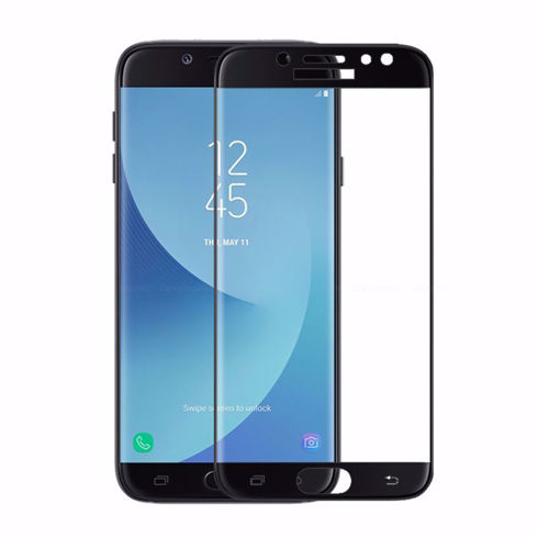 Imagine Folie de sticla full size Samsung Galaxy J3 2018 Neagra