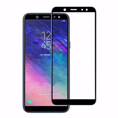 Imagine Folie de sticla full size Samsung Galaxy A8 2018 Neagra