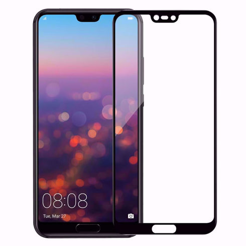 Imagine Folie de sticla full size Huawei P20 Neagra
