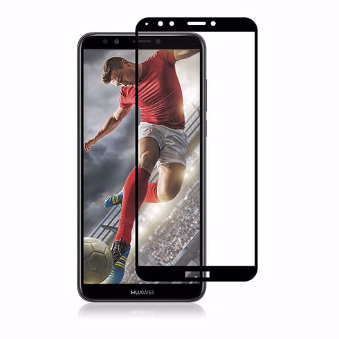Imagine Folie de sticla full size Huawei Y7 2018 Neagra
