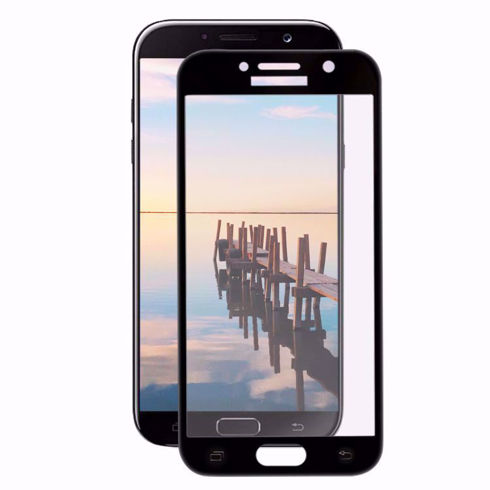 Imagine Folie de sticla full size Samsung Galaxy A5 2016 Neagra