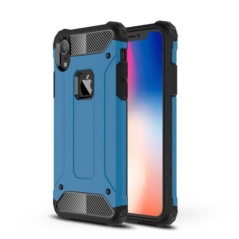 Imagine Husa Protection 360 iPhone X/XS Albastra