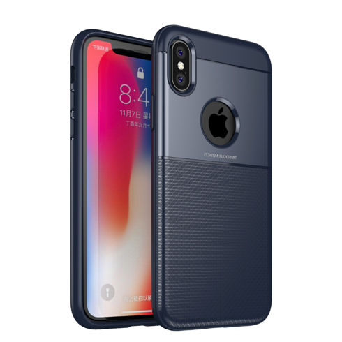 Imagine Husa Slim Protection iPhone X/XS Albastra