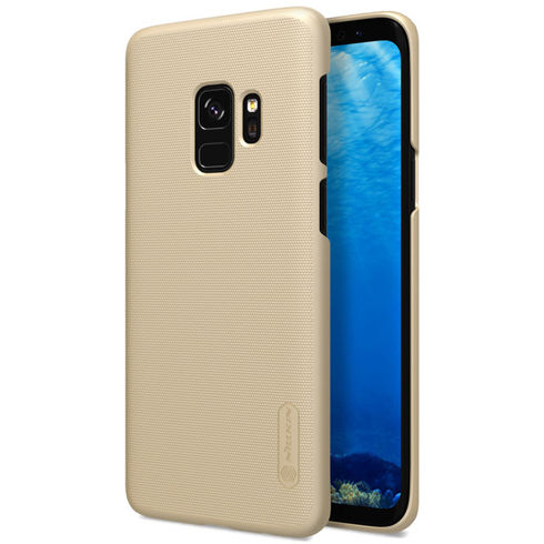 Imagine Husa Nillkin Super Frosted Shield Samsung Galaxy S9 Gold