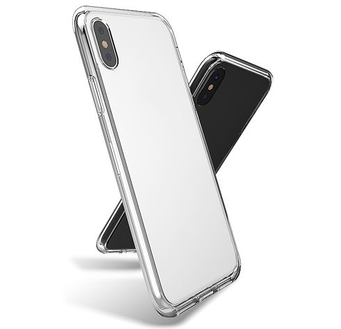 Imagine Husa de protectie din silicon iPhone X transparenta