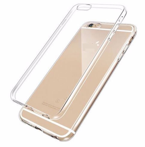 Imagine Husa de protectie din silicon iPhone 6 Plus transparenta