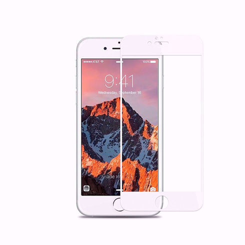 Imagine Folie sticla securizata 6D Iphone 7 Alba