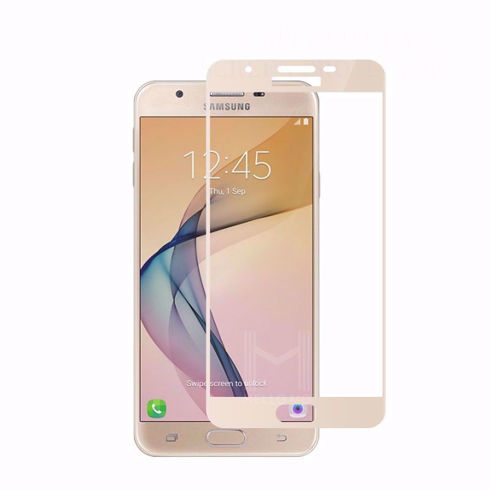 Imagine Folie de sticla full size Samsung Galaxy J7 2017 Gold