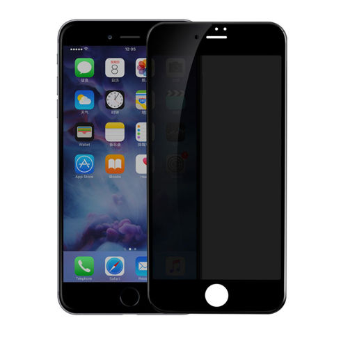 Imagine Folie sticla privacy full screen black Iphone 6/6s